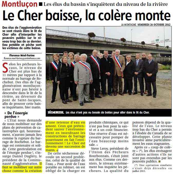 élus à Montluçon