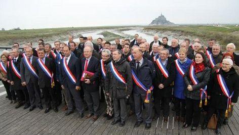 les élus du Mt St Michel